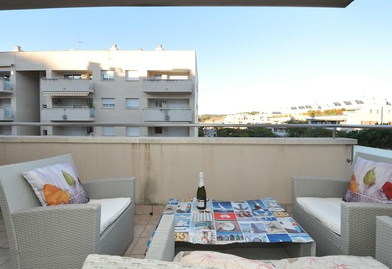 Apartment Santa Clotilda, Lloret de Mar, Apartament z 2 sypialniami, Taras/patio