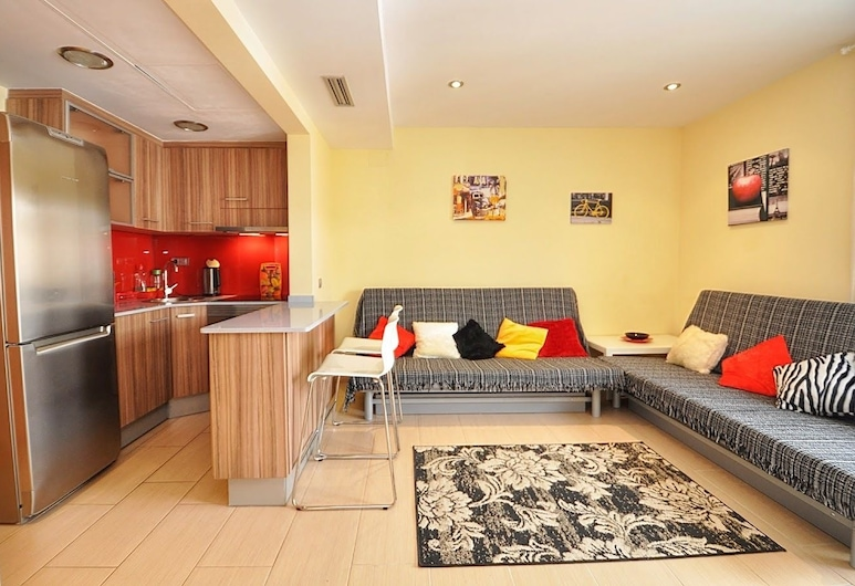 Apartment Sant Jordi Diamond, Lloret de Mar, Apartament z 1 sypialnią, Powierzchnia mieszkalna