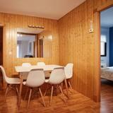 Huoneisto, 3 makuuhuonetta - Ruokailu omassa huoneessa