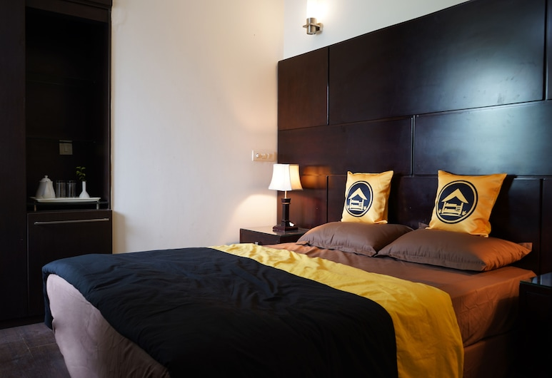 The Hosteller Delhi, New Delhi, Deluxe Double Room, 1 Double Bed, Non Smoking, Private Bathroom, Guest Room
