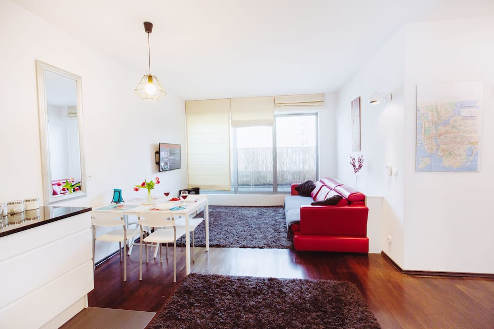 Departamento Deluxe, 2 habitaciones, para no fumadores - Sala de estar