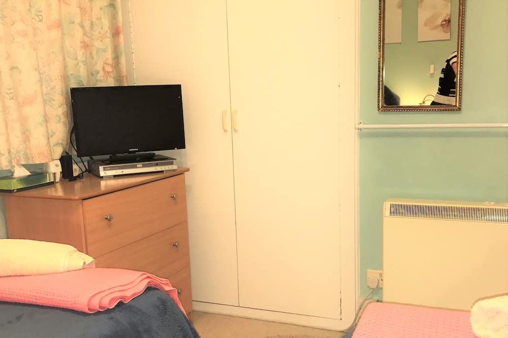 Standard szoba két külön ággyal, 2 egyszemélyes ágy - TV