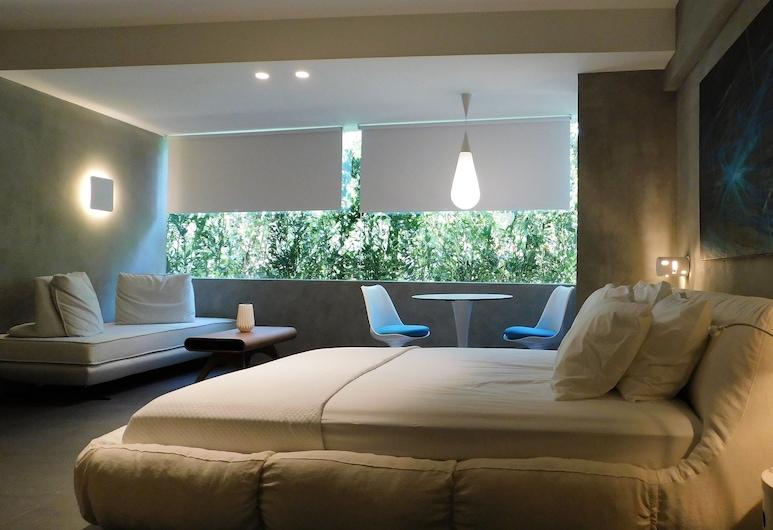 101 Adrianou Luxury Urban Stay, Αθήνα, Superior Σουίτα, Θέα στον Κήπο, Δωμάτιο επισκεπτών