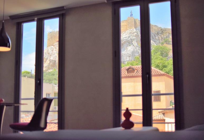 101 Adrianou Luxury Urban Stay, เอเธนส์, ห้องเอ็กซ์คลูซีฟสวีท (Acropolis View), ห้องพัก