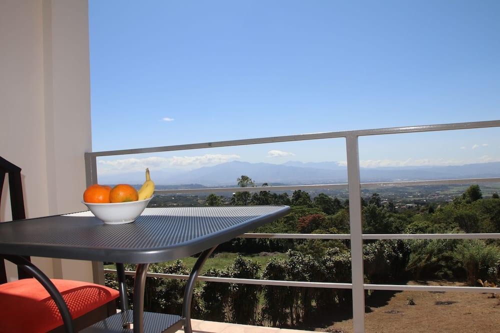 Mieszkanie Junior, Wiele łóżek, dla niepalących, widok na góry - Balkon