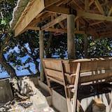 Будинок категорії «Прем'єр», 2 спальні, з видом на море, з видом на водойму - Веранда