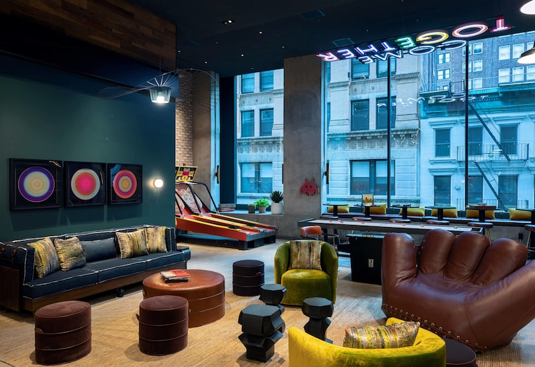 Moxy NYC Downtown, New York, Hotelbar