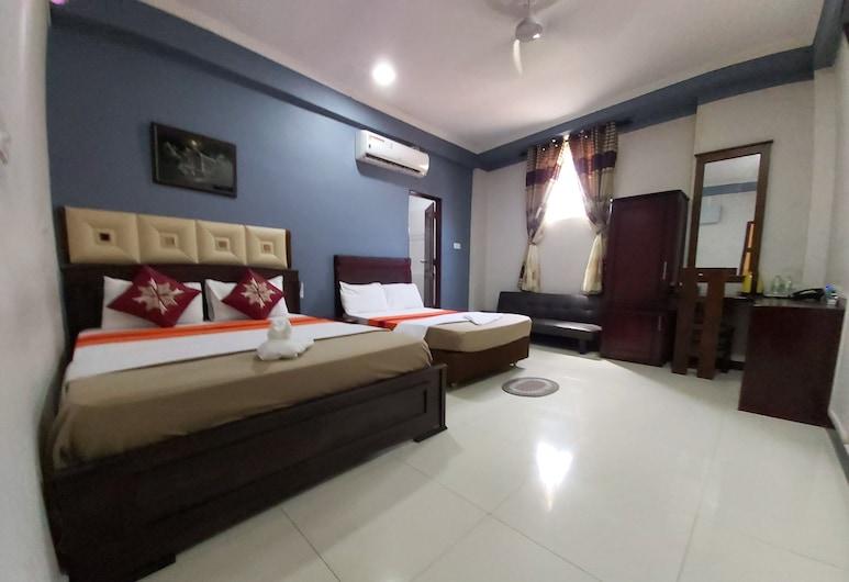 Global City Hotel, Colombo, Comfort Dört Kişilik Oda, Oda