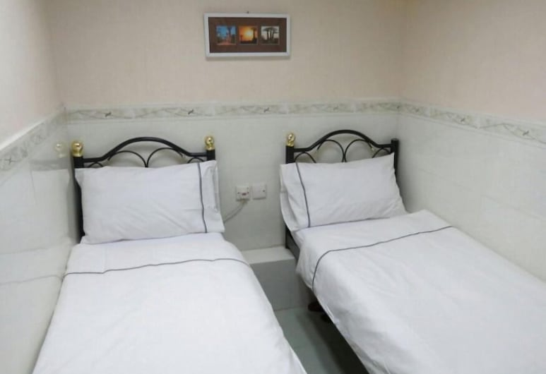 南北賓館, 九龍, 標準雙人或雙床房, 2 張單人床, 非吸煙房, 客房景觀