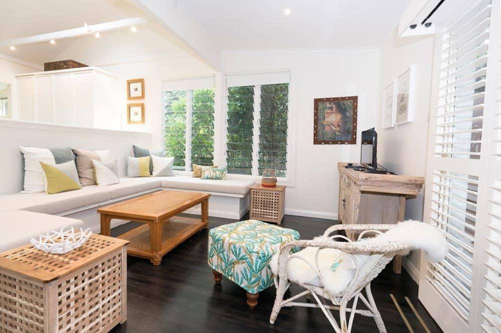 Deluxe-Haus, 2Schlafzimmer - Wohnbereich
