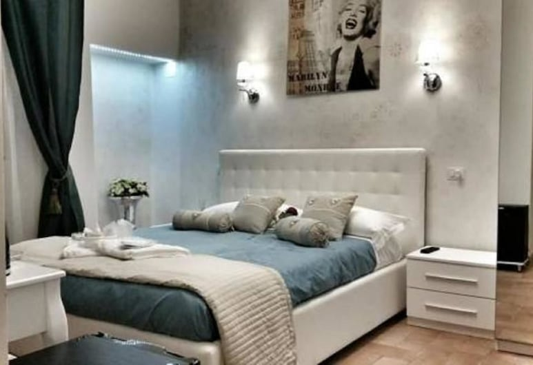 Soggiorno Oblivium, פירנצה, סוויטה משפחתית, מטבח, חדר אורחים
