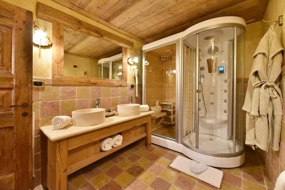 Phòng đôi Superior - Phòng tắm