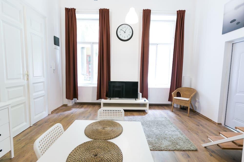 都會公寓, 4 間臥室 - 客廳