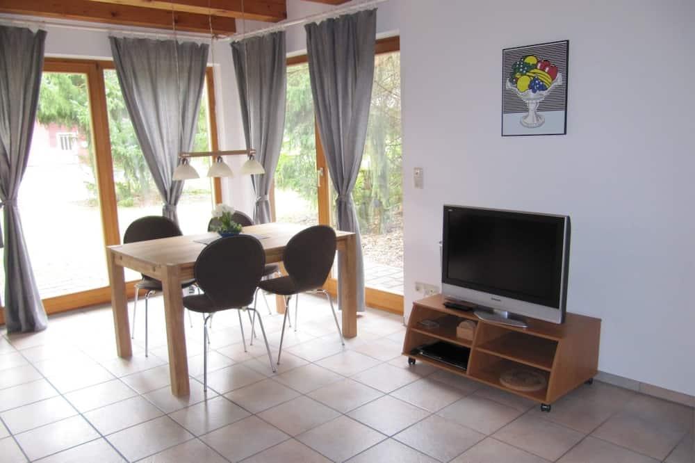 單棟房屋, 露台, 花園景 (Buchenweg 40 a) - 客房內用餐