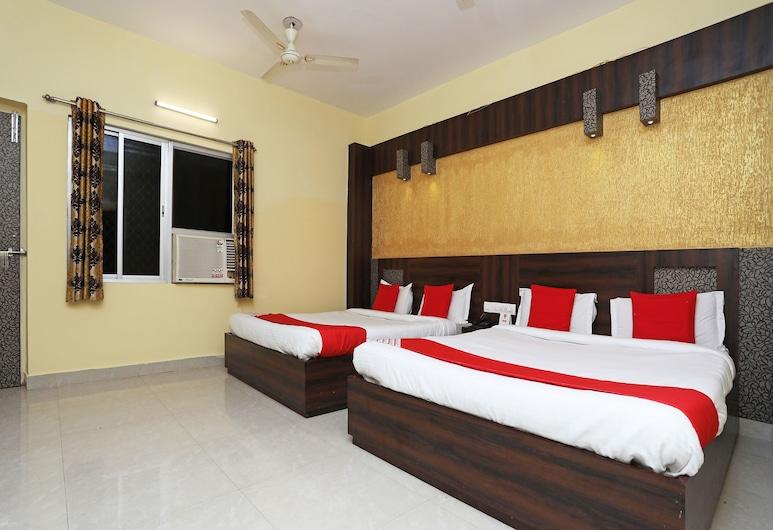 OYO 15206 Hotel Sonar Gaon, Puri, Deluxe-Doppel- oder -Zweibettzimmer, 1King-Bett, Zimmer