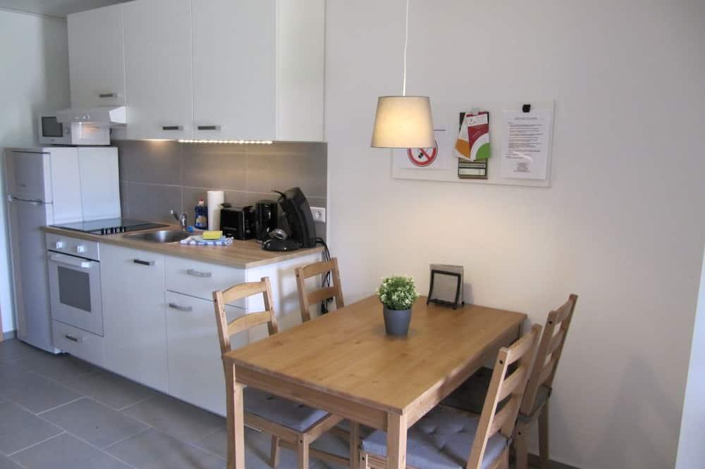 Apartamentai, terasa (Eschenkamp 14b) - Svetainės zona