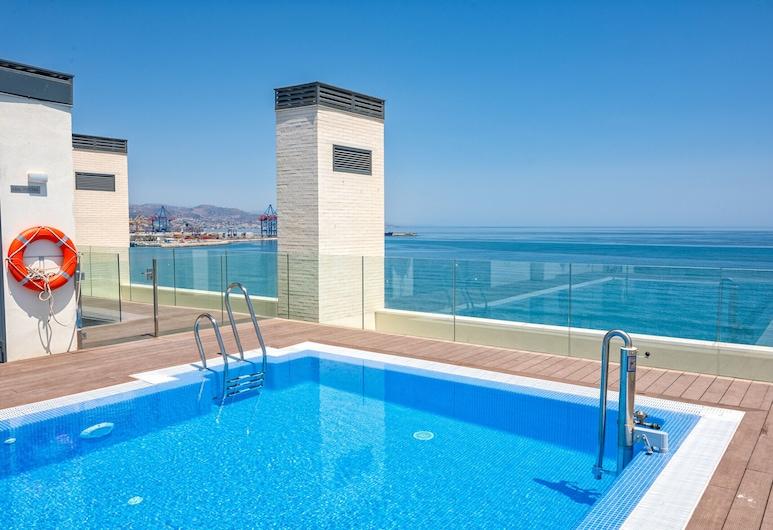 Iloftmalaga Pacífico 15, Málaga, Pool på tagterrassen