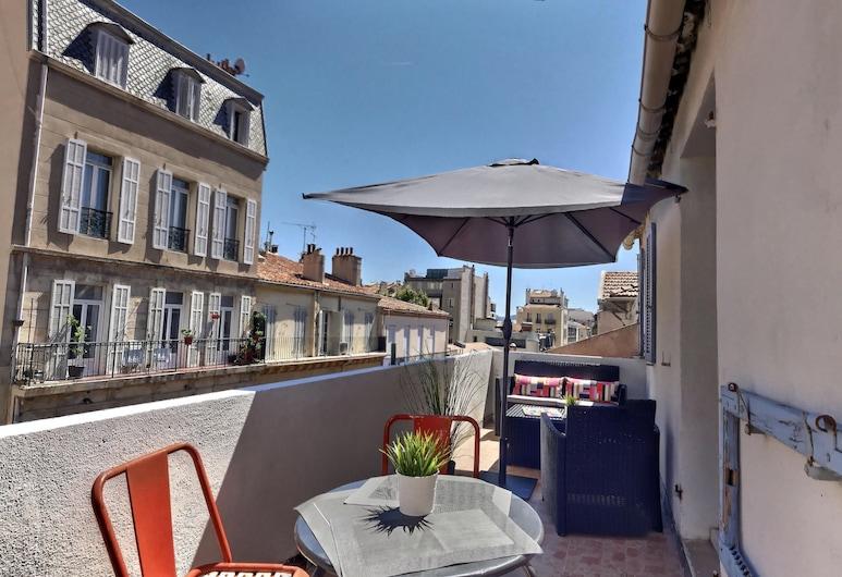 Les Appartements d'Edmond St Sébastien, Marseille, Apartment, Terrace, Terrace/Patio
