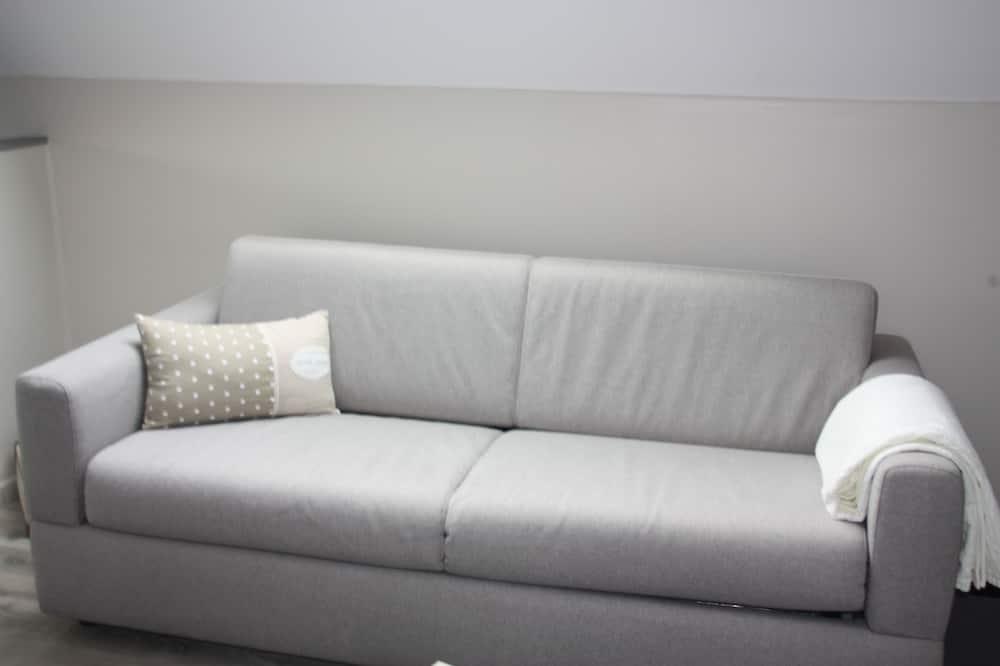 Kambarys šeimai, 1 miegamasis, Nerūkantiesiems, atskiras vonios kambarys - Svečių kambarys