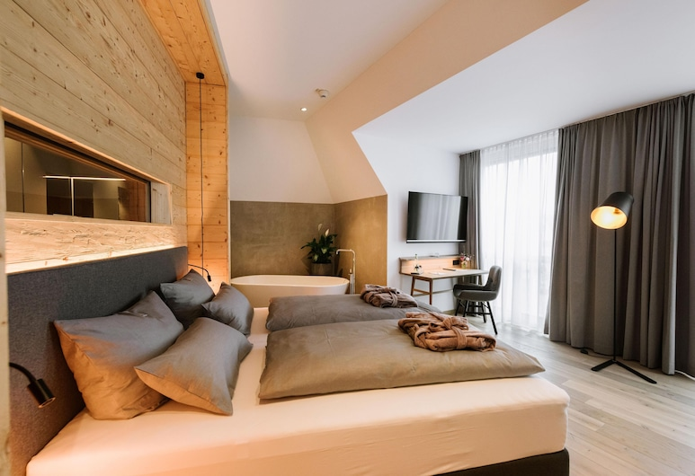 Johanns Hotel, Hilpoltstein, Apartmán typu Deluxe, sauna (Master), Hosťovská izba