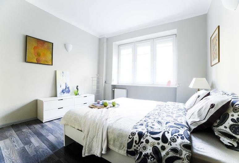Apartment next to Central Railway St., Warszawa, Lägenhet Business - 1 queensize-säng med bäddsoffa - icke-rökare, Rum