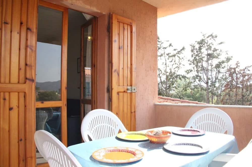 Villa, viena guļamistaba - Balkons