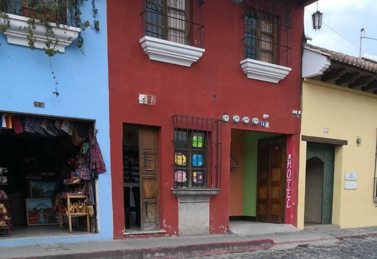 Hotel Blue star, Antigua Guatemala, Hotel homlokzata