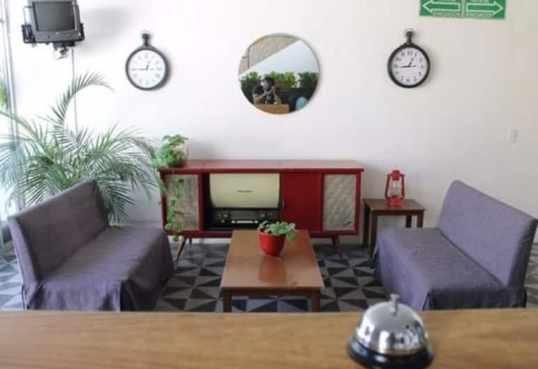 Casa Zapopan Hotel, Zapopan, Khu phòng khách tại tiền sảnh