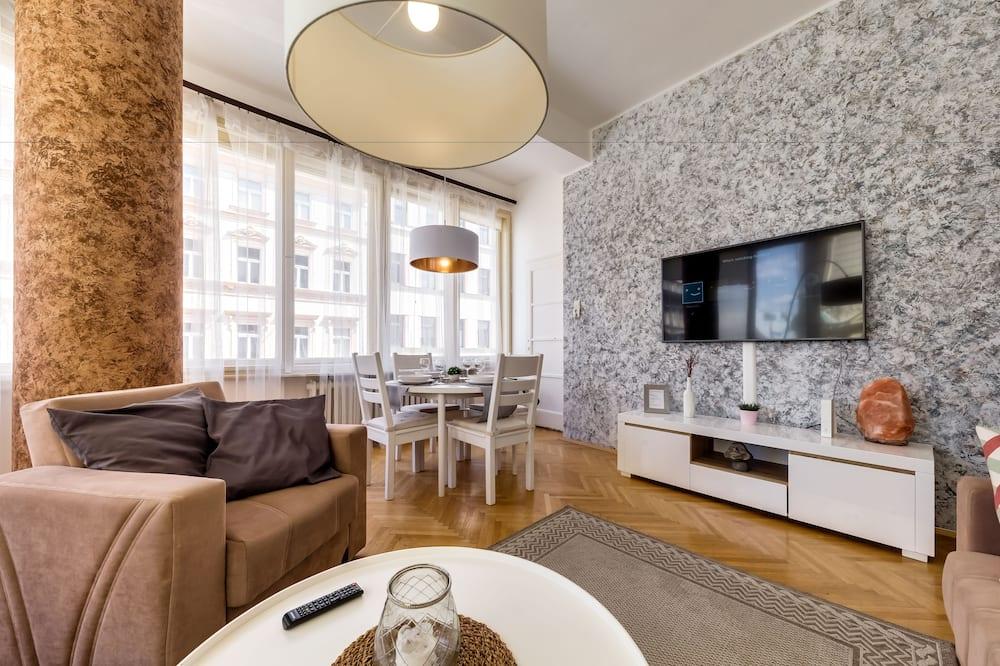 Apartmán typu Comfort, balkon - Obývací pokoj