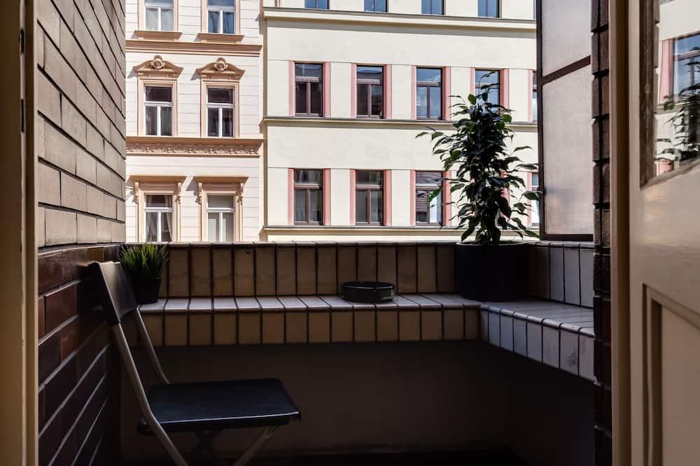 Apartmán typu Comfort, balkon - Balkón