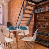 Deluxe-Apartment (APART 10) - Essbereich im Zimmer