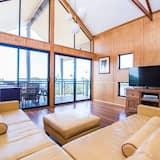 Casa Deluxe, Varias camas, balcón, vista a la playa - Sala de estar