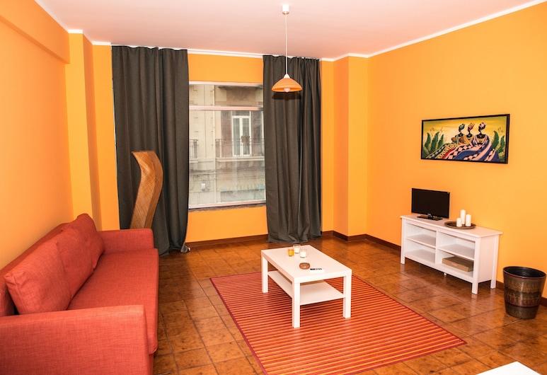 Loft Notarbartolo 1, Palermo, Appartement, Coin séjour
