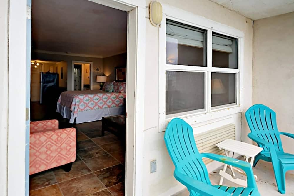 Kooperatīva tūristu mītne, viena guļamistaba - Balkons