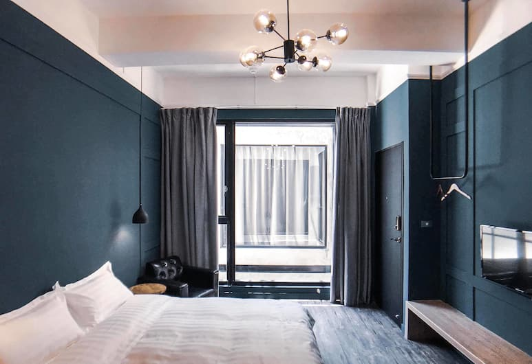 The Gatsby Apartment, Tainan, Premium Double Room, 1 Double Bed, Non Smoking (Gatsby), Guest Room