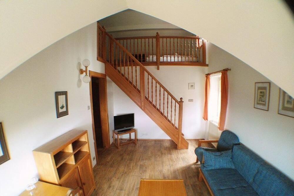 Dvoupodlažní apartmá - Obývací prostor