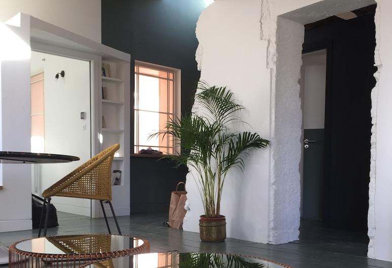 獨特公寓飯店, 南錫, 標準公寓, 客廳