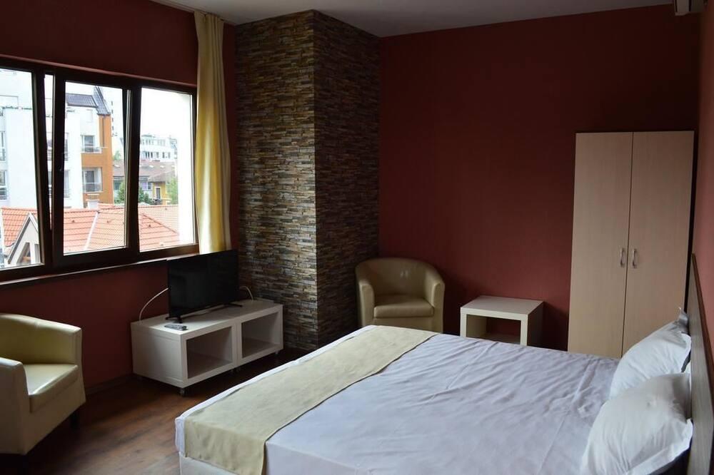 Junior-Suite, Balkon - Wohnbereich