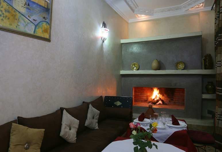 Riad El Bellar, Marrakech, Restaurant