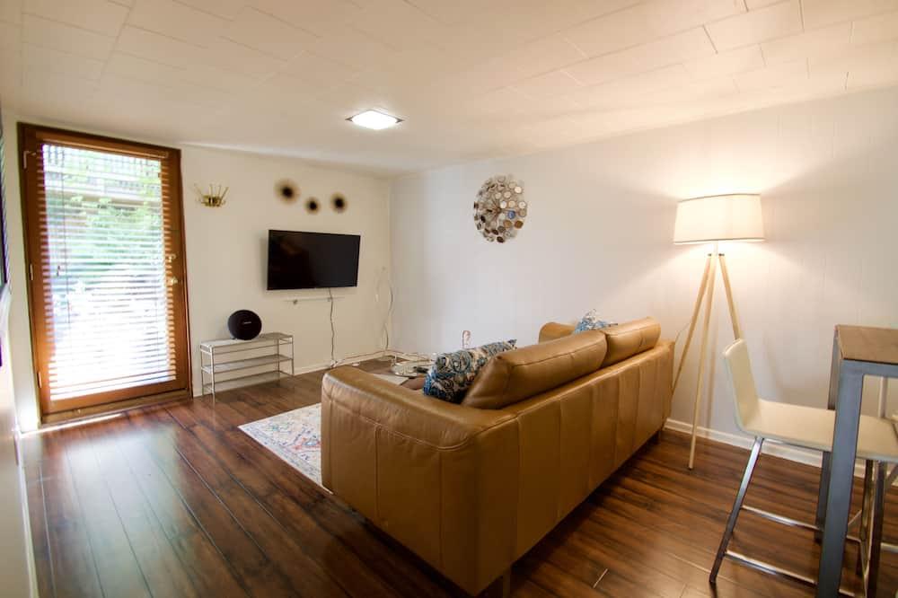 公寓, 1 張加大雙人床和 1 張沙發床, 非吸煙房 - 客廳