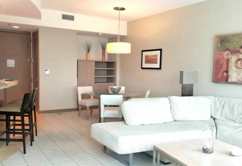CONRAD 1bed Condo Brickell-Free Parking, Miami, Apartment, Living Area
