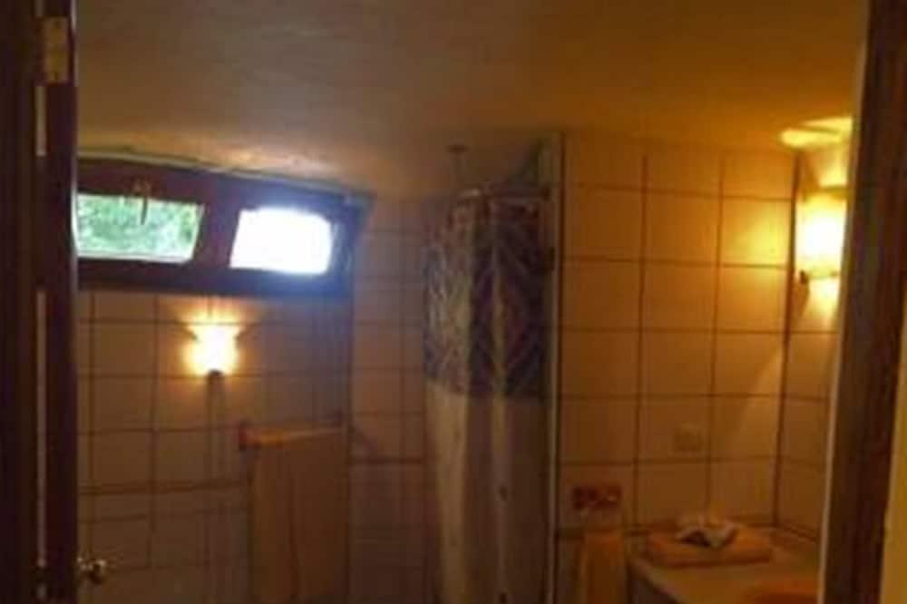 Deluxe maisonnette, 2 tweepersoonsbedden, roken, uitzicht op tuin - Badkamer