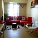 Standard-Apartment, 1 Schlafzimmer, Poolblick - Wohnbereich