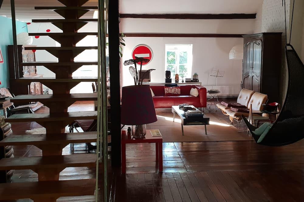 Štandardný loftový byt (Suite) - Obývacie priestory