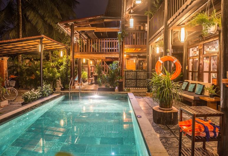 隱密海灘游泳池別墅飯店, 會安