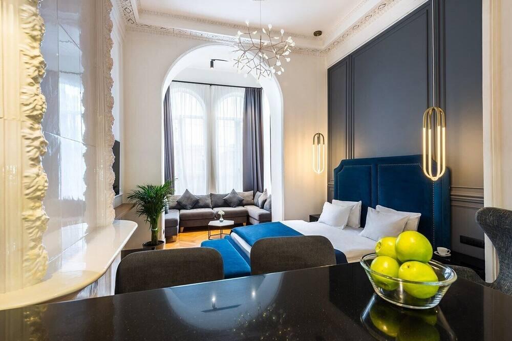 דירה דה-לוקס (7) - חדר אורחים
