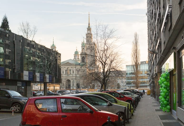 Apartamenty Dobranoc - ul. Graniczna, Βαρσοβία, Θέα από το κατάλυμα