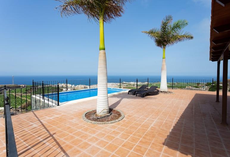 Finca Vinco, Guia de Isora, House, 3 Bedrooms, Private Pool, Sea View, Terrasse/patio