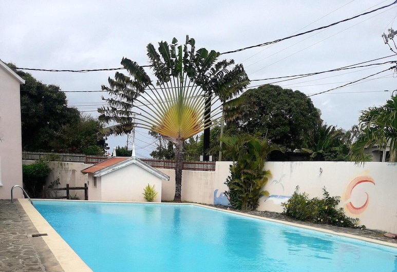 Apartment With 2 Bedrooms in Melville, With Shared Pool, Enclosed Garden and Wifi - 5 km From the Beach, Thị trấn Grand Gaube, Hồ bơi