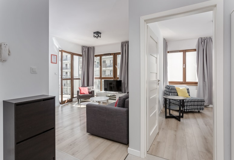 Chill Apartment, Warschau, Exclusive-Apartment, Wohnbereich